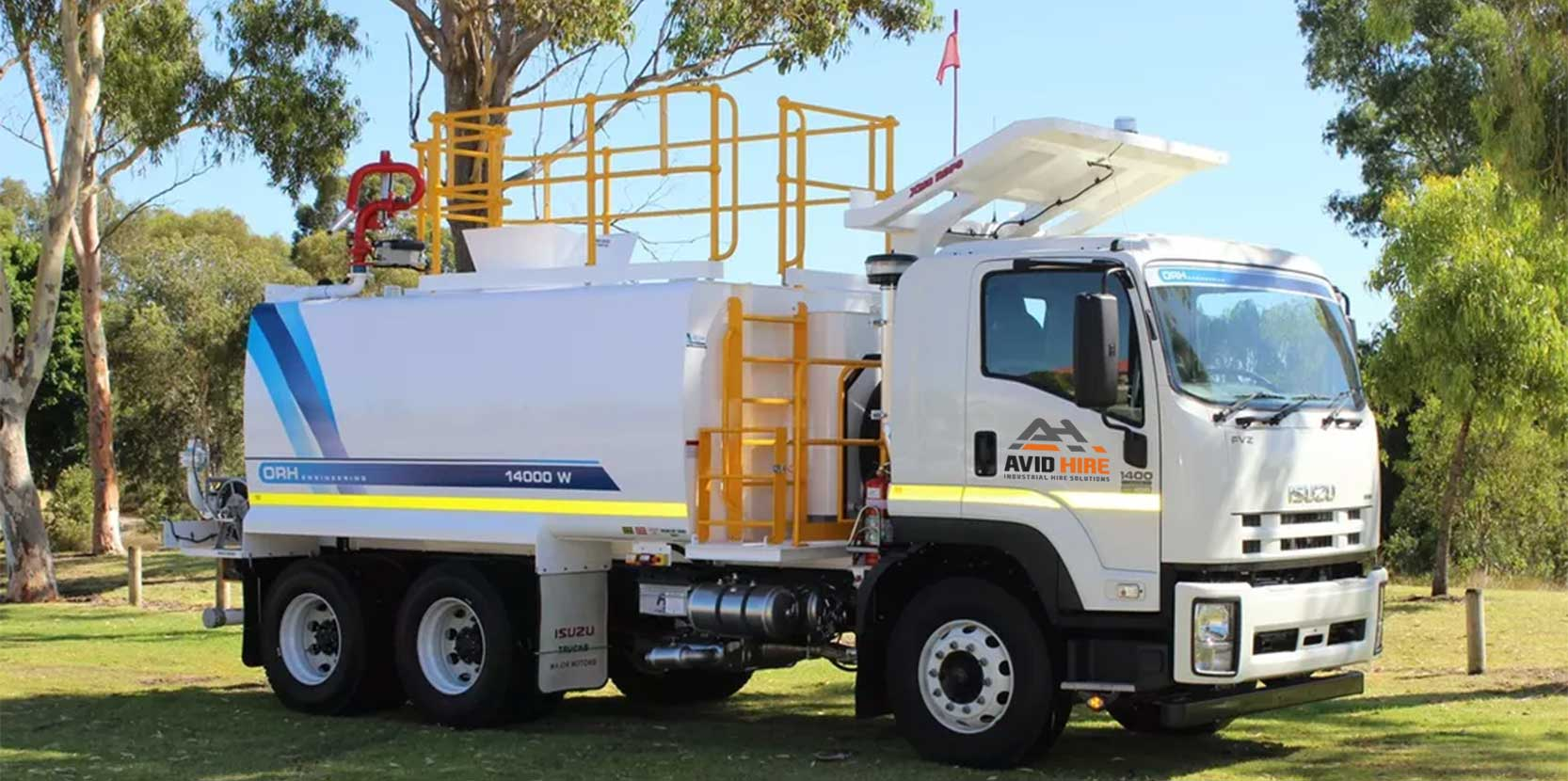 Isuzu-FVZ1400 Avid Hire Perth